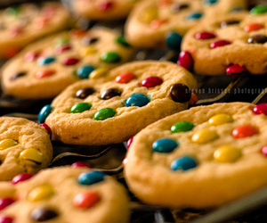 Cookies, yumm, and m&m's image