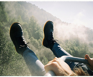nature, photography, and boots image