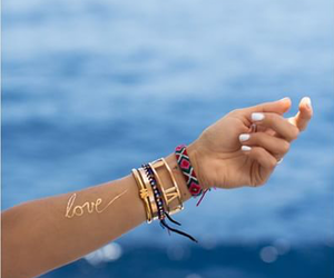 sea, summer, and love image