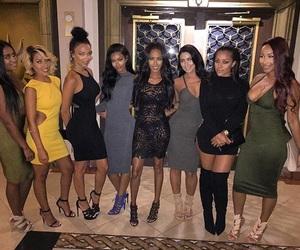 besties, dressed, and ladies image
