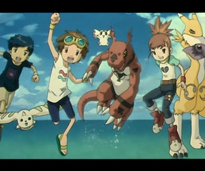henry, digimon, and rika image