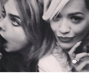 forever?, ritaora, and caradelevingne image
