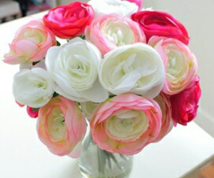 flowers, pink, and flower display image