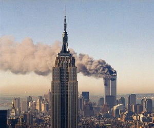 new york, twin towers, and world trade center image