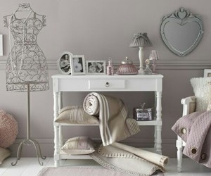 bedroom, grey, and pretty image