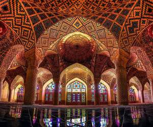 architecture, iran, and mosque image
