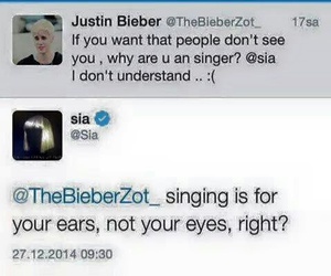 twitter and ️sia image