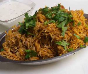 food, recipe, and biryani image