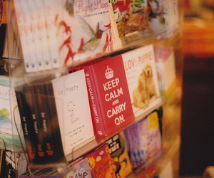 book and keep calm image