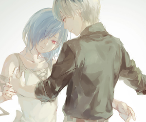 tokyo ghoul and touka image