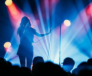 concert, gorgeous, and lights image