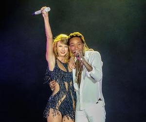 Taylor Swift and wiz khalifa image