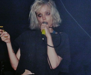 Alice Glass, Crystal Castles, and grunge image