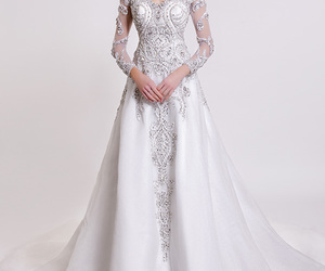 wedding dress and dar sara image