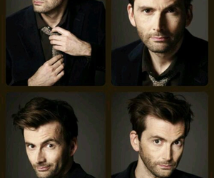david, handsome, and tennant image