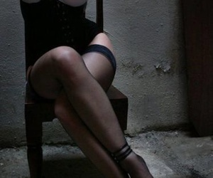 dark, submission, and tied up image