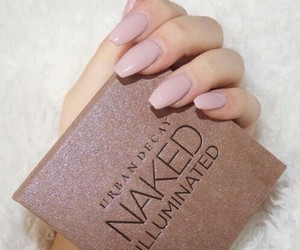 nails, makeup, and naked image
