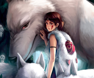 animals, anime, and drawings image