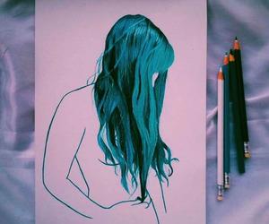alone, art, and beauty image