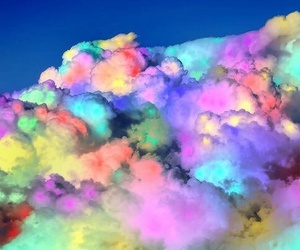 clouds, colors, and sky image