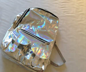 backpack, holographic, and inspiration image