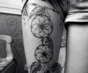 tattoo, leg, and Dream image