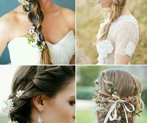 braids, creativity, and daisies image