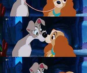 love, disney, and dog image