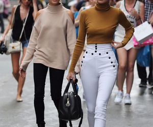 kendall jenner, hailey baldwin, and jenner image