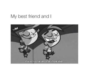 best friends, idiot, and bff image