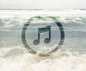 feel, music, and waves image