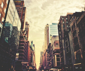 city, vintage, and street image