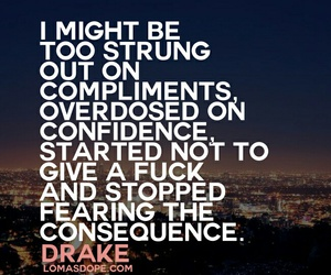 Drake, qoute, and song image