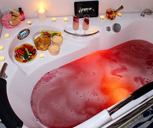 bath, lush, and luxury image