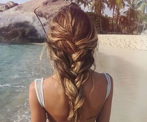 beauty, braid, and look image
