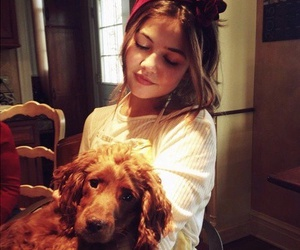 danielle campbell, dog, and icon image