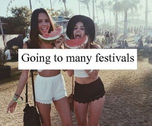 festival, fun, and girl image