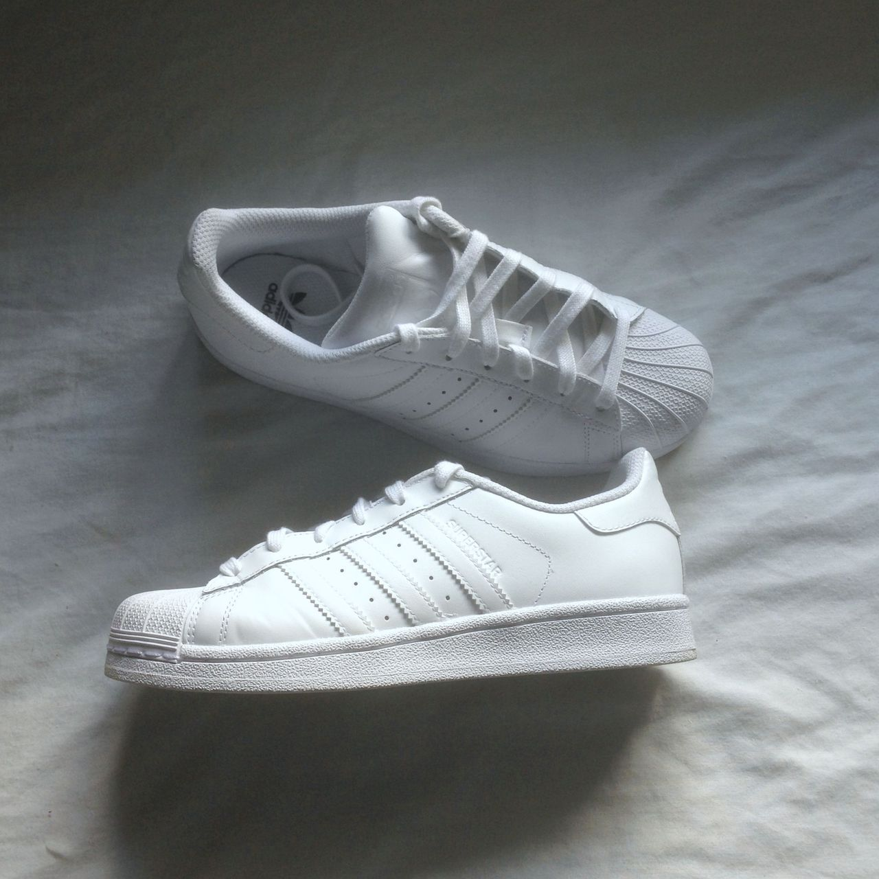 finest selection 90c1e a3626 ... inexpensive adidas superstar outfit womens adidas superstar white  uploaded by felicia on we heart it 5ba4e