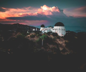 beautiful, california, and griffith park observatory image