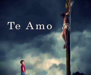 jesus, god, and te amo image