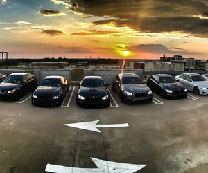 angels, balck, and bmw image