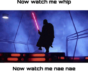 dark side, nae nae, and watch me whip image