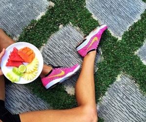fruit, nike, and summer image