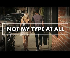 music video, jacob whitesides, and not my type at all image