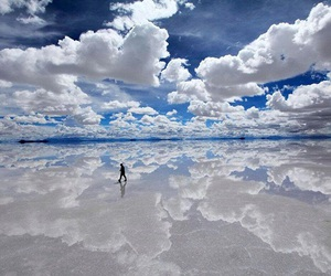 clouds, sky, and Bolivia image