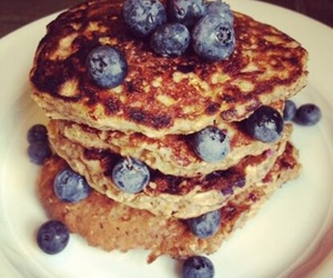 blueberries, breakfast, and delicious image