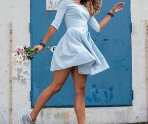 beautiful, blue, and body image