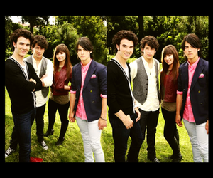 demi lovato, joe, and kevin image