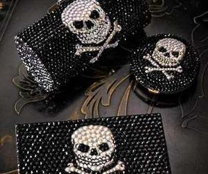 accessories, luxury, and skull image