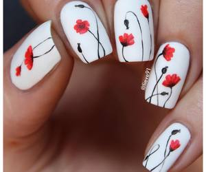 beautiful, cosmetic, and nails image